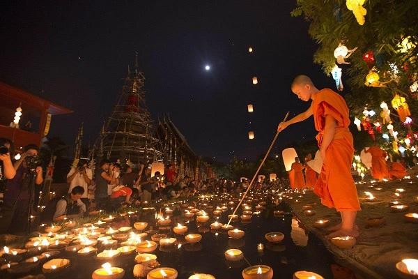 Lễ hội hoa đăng Krathong truyền thống