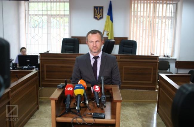 Адвокат Владимир Ефименко в суде. Фото: Герман Кригер