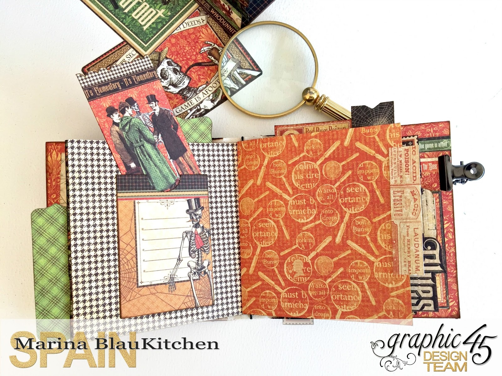 Stand and Mini Album Master Detective by Marina Blaukitchen Product by Graphic 45 photo 18.jpg