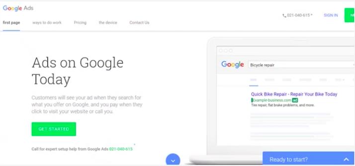 Аккаунт в Google Ads