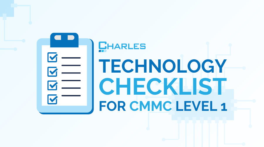 Technology Checklist for CMMC Level 1