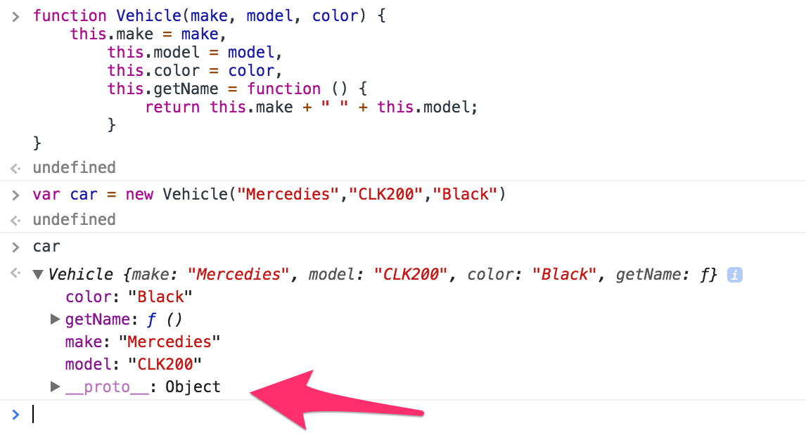 فئات JavaScript classes article- Constructor 4