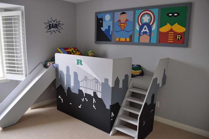 Кровать-супергероя