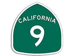 highway 9 sign