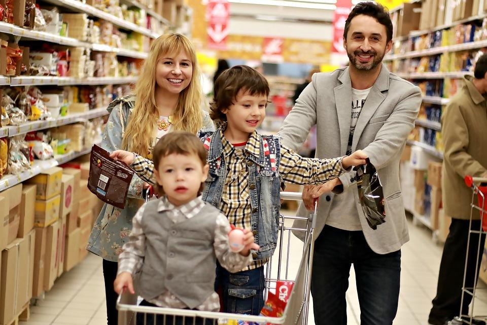 Image result for Shopping with Kids