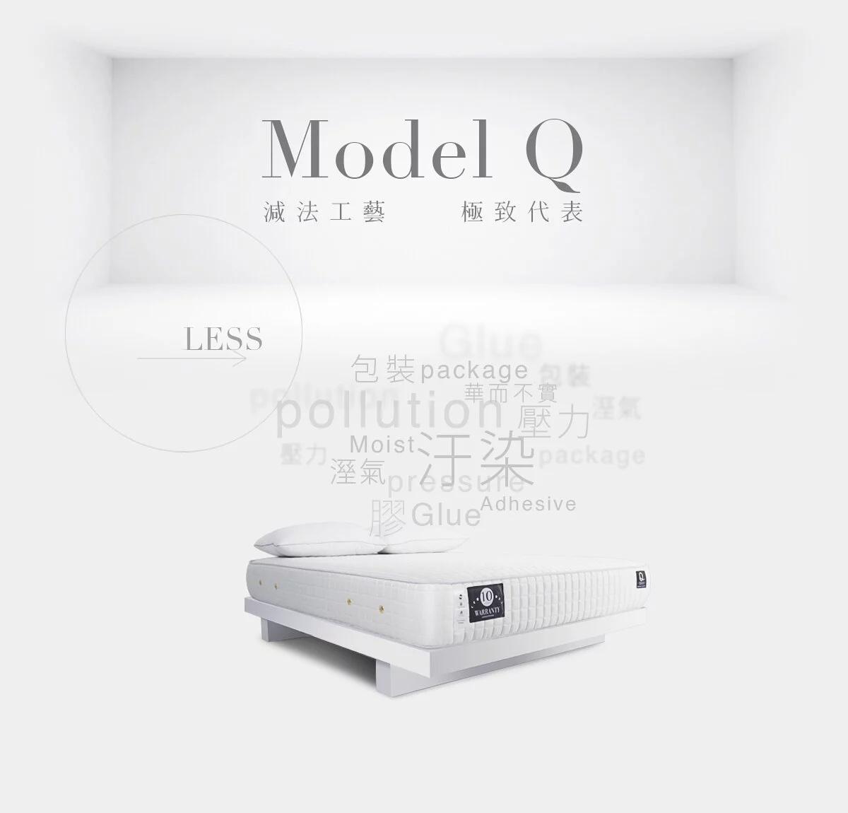 PERQIUSS-ModelQ彈簧床墊推薦