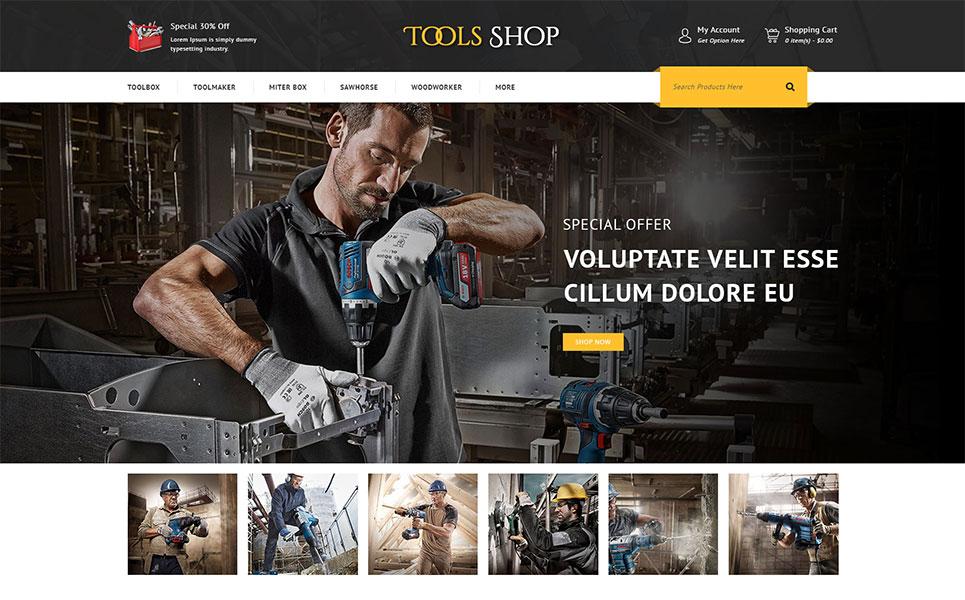 Tools Shop OpenCart template