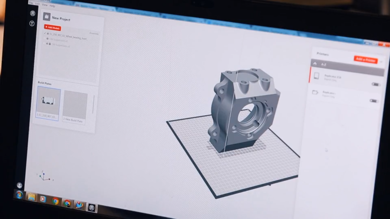 MakerBot Print, software de modelagem 3D