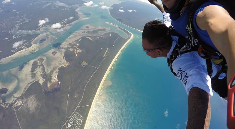 Fraser Island Skydiving