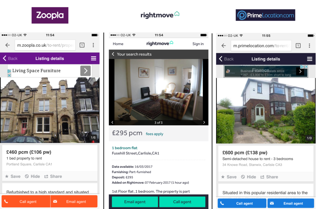 How to Advertise a Property on Rightmove and Zoopla as a
