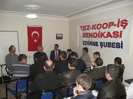 Edirne Şubemizde 2 Günlük Eğitim Semineri Gerçekleştirildi.