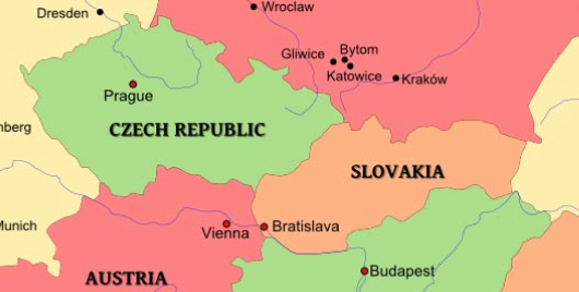 Map Of Czechoslovakia Authorized Access Points, Subject Headings, and MARC Codes for