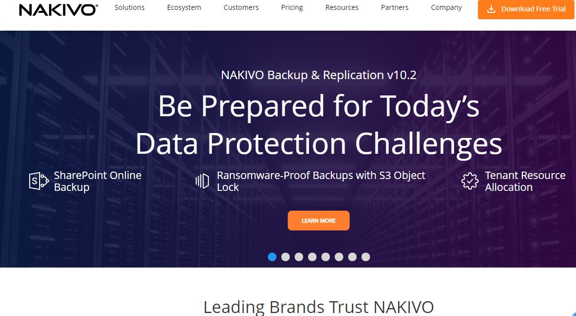 Nakivo Windows Server Backup Software