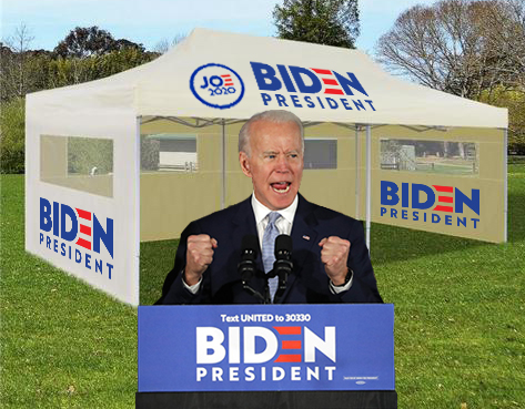 APRIL FOOLS – Joe Biden announces ice cream pop-up shops