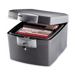 Sentry Safe F3300: Waterproof Fire File, 1.3 Ft3, 17-1/2w x 20-1/4d x 14-1/8h, Charcoal Gray
