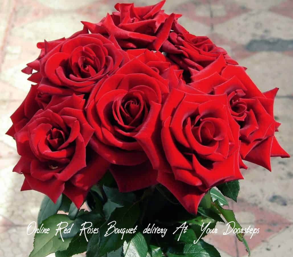 Online Red Roses Bouquet Delivery At Your Doorsteps