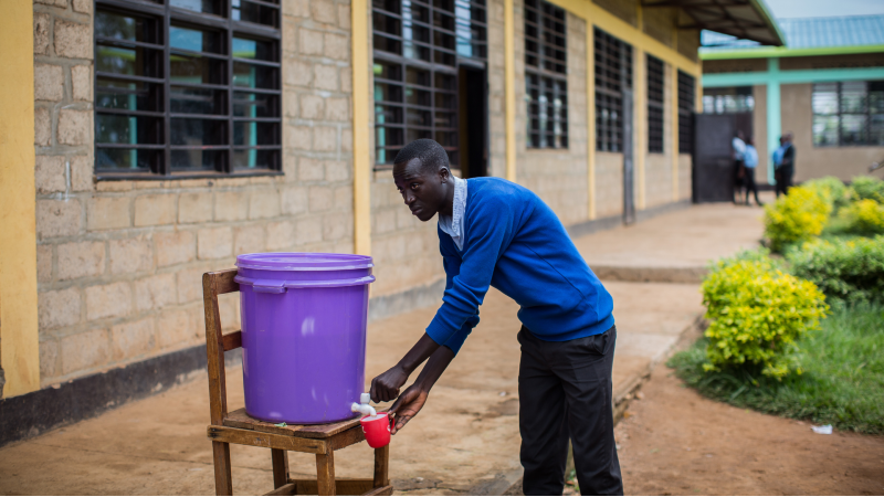 The schools where children can't wash their hands or use a toilet