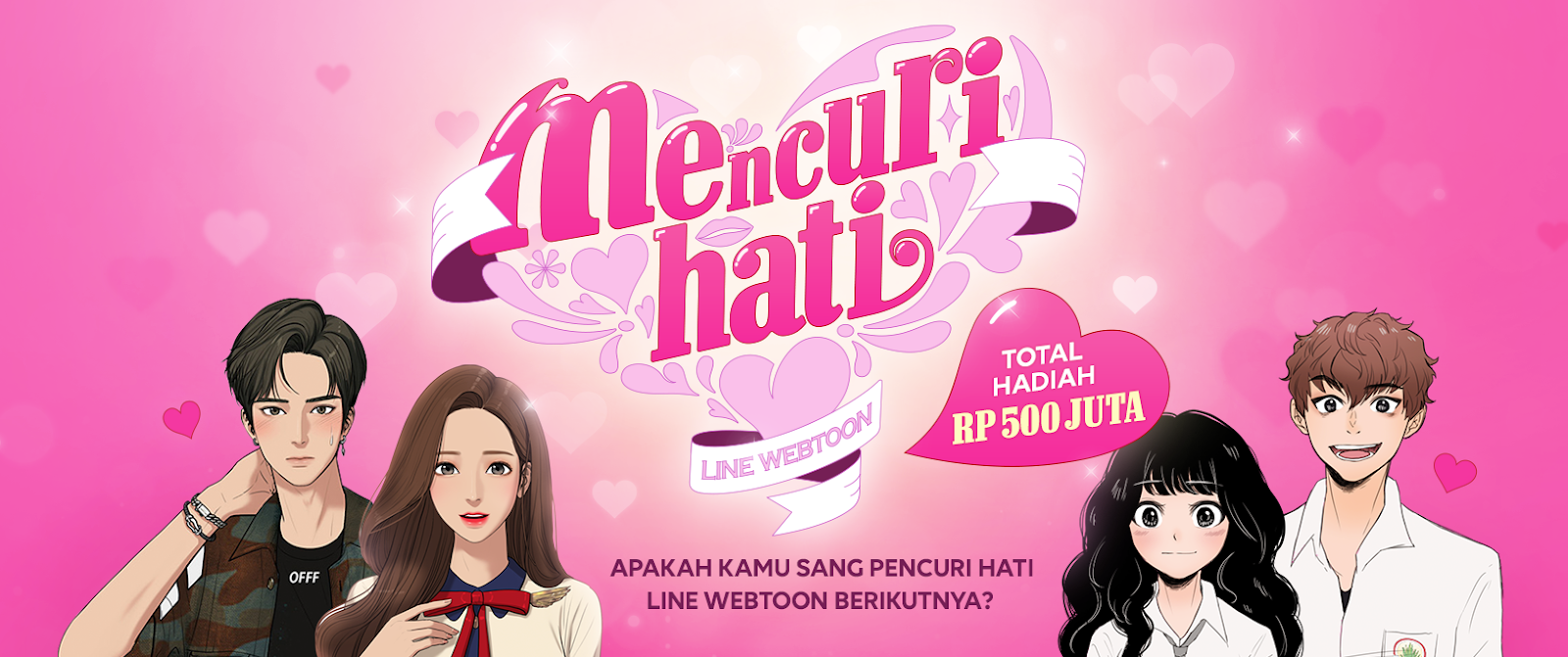 Yuk Ikutan Kontes LINE WEBTOON Dalam Rangka Ulang Tahun KE-5!