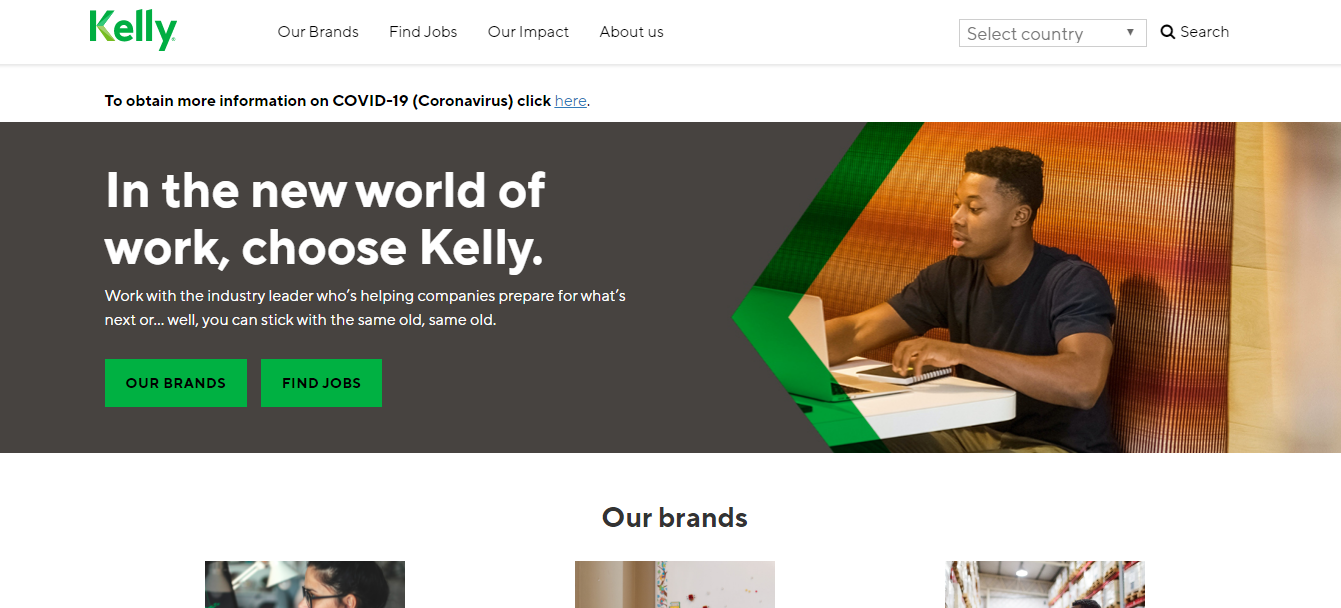 Kelly Services Work From Home