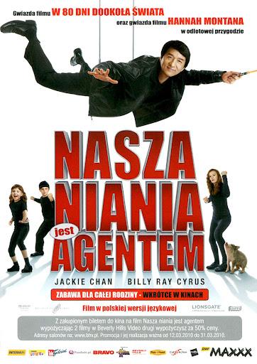 Przód ulotki filmu 'Nasza Niania Jest Agentem'