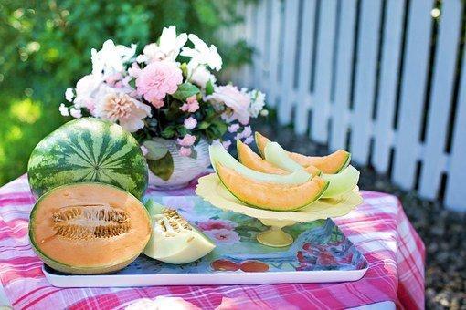 Melons, Cantaloupe, Watermelon
