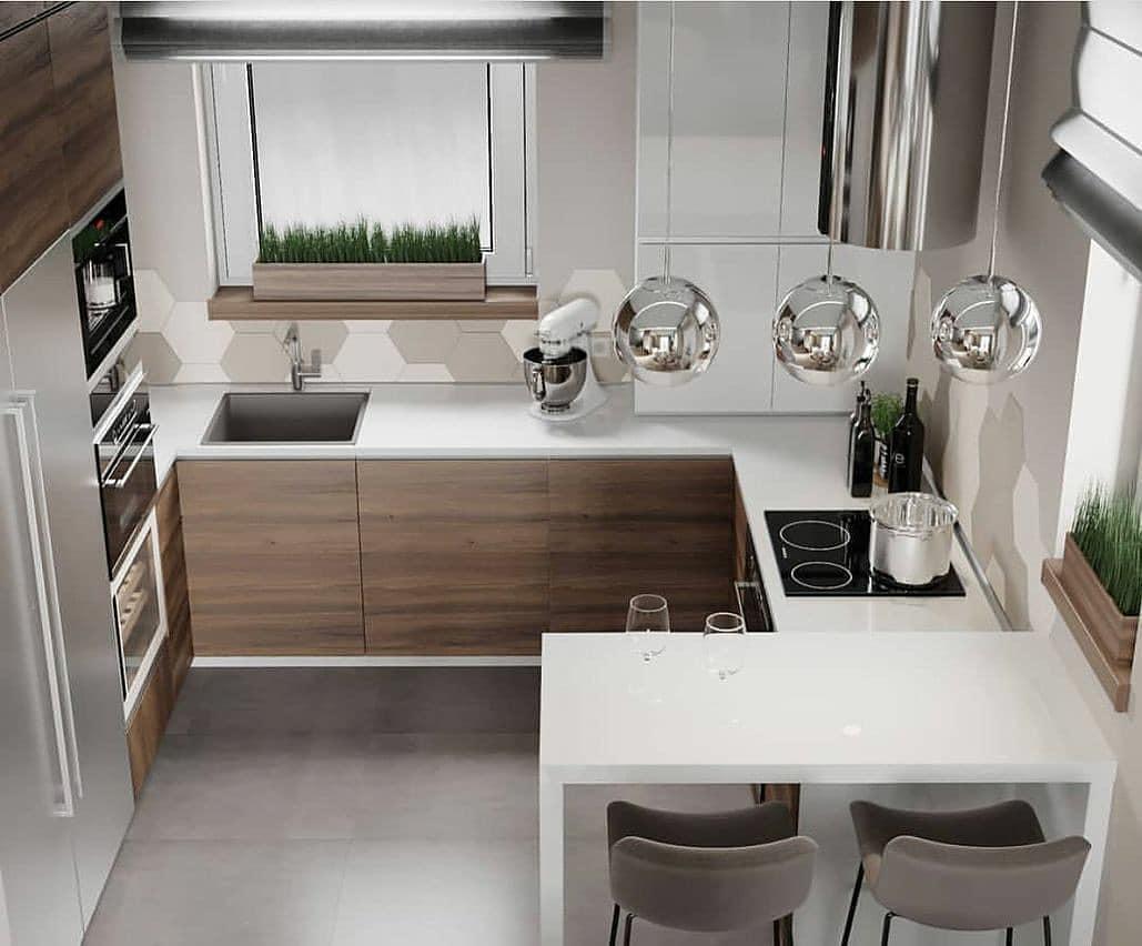 cozinha com mais espaço