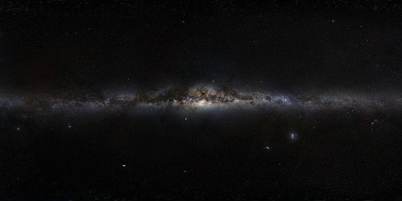 A galaxy in space  Description automatically generated with low confidence