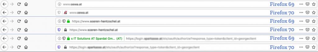 Зміни в Firefox
