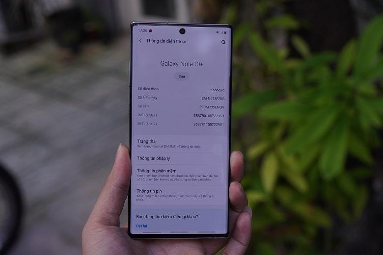 Sửa lỗi mất imei Galaxy Note 10, Note 10 Plus uy tín