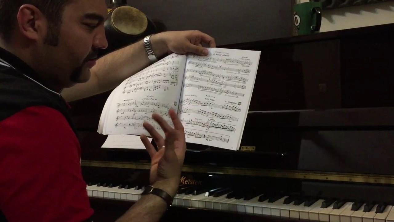 ۱۳ و ۱۴ احسان نیک پیانو