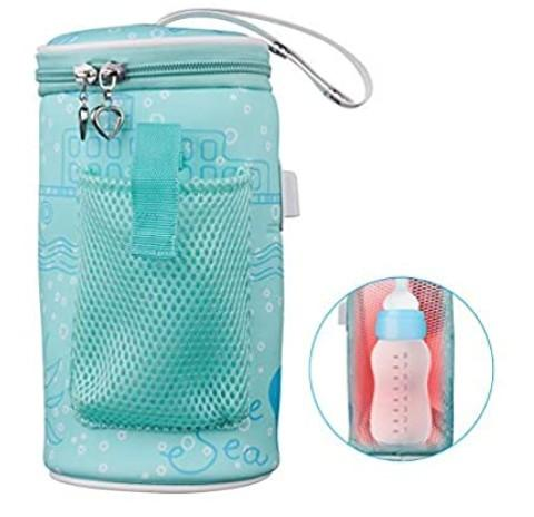 #4. AOZBZ Baby Bottle Warmer Bag