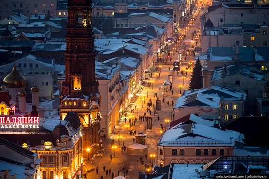 Winter in Kazan, Russia - the view from above, photo 9