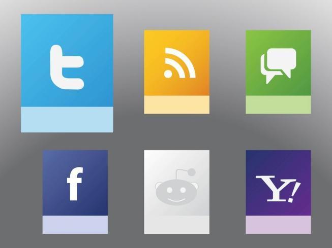 Social Websites Vectors
