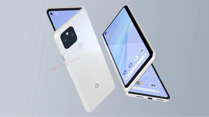 Google Pixel Fold (Ảnh: Phone Arena)
