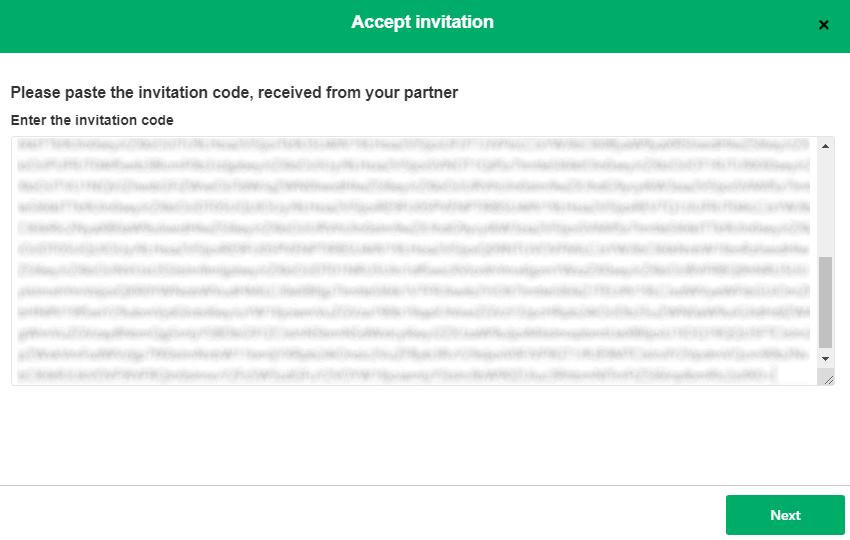 accept exalate invitation code