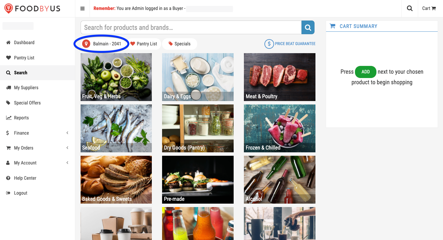 FoodByUs_dashboard_my_suppliers_marketplace