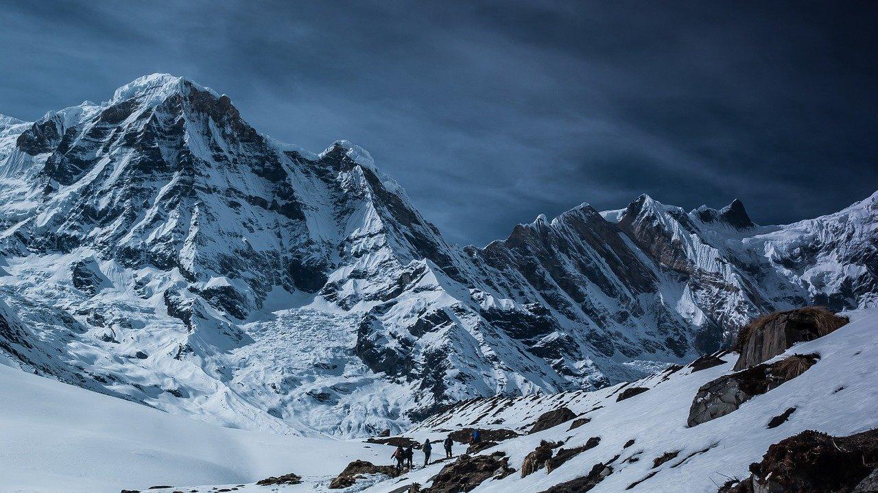 a mountain range