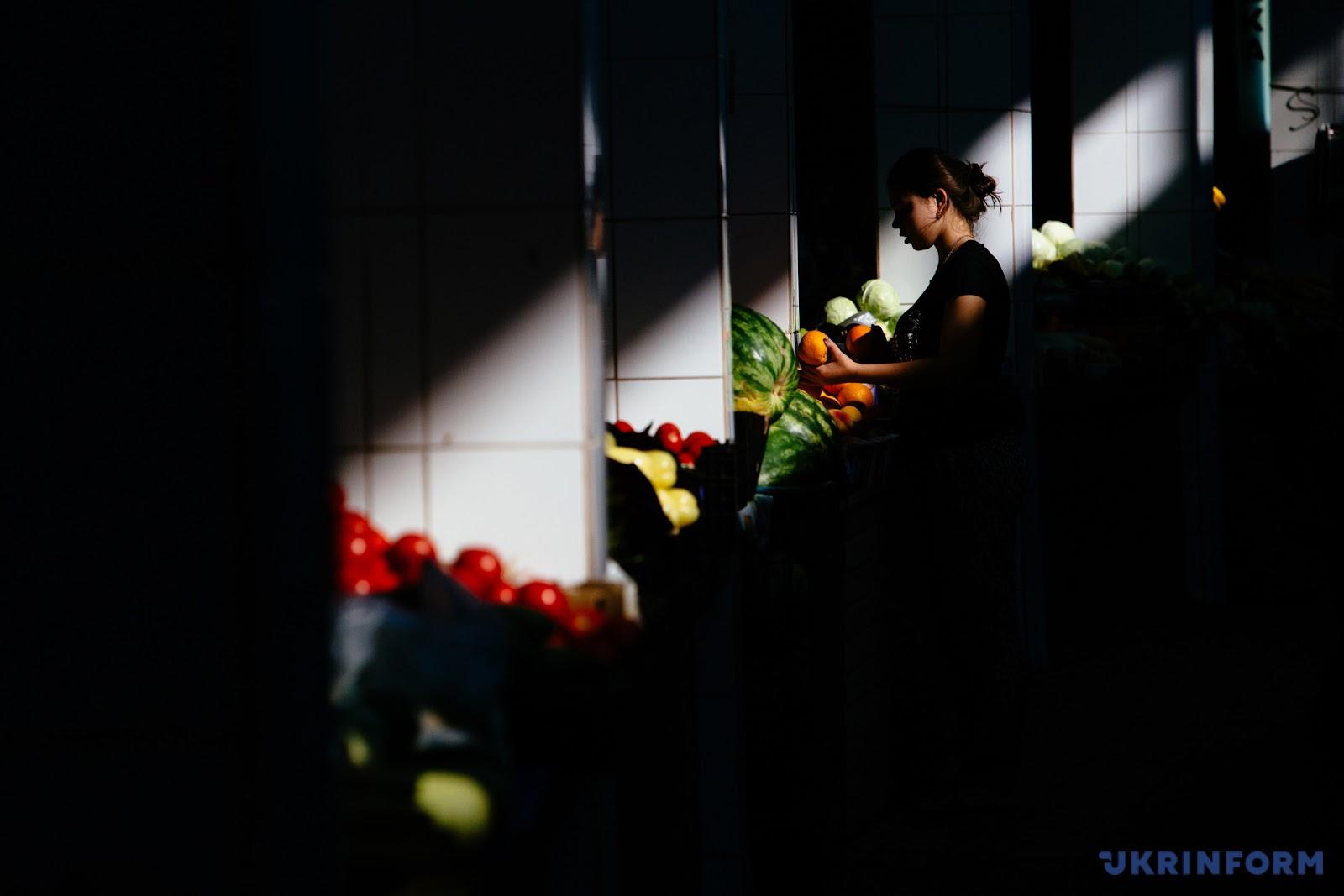 Ужгородский овощной рынок / Фото: Сергей Гудак. Укринформ