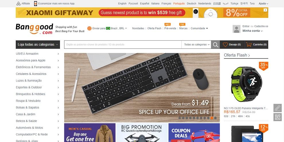 64cef883e Melhores sites da China para comprar produtos com facilidade de ...