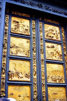 Puertas del Baptisterio en Florencia