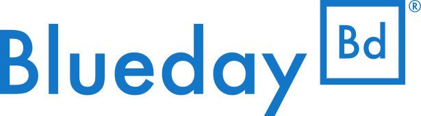 Blueday's logo.