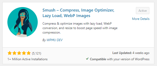 Smush Plugin for WordPress