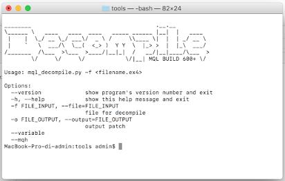 decompile  ex4 to  mq4 build 600+