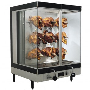 Electricity-Powered Commercial Chicken Rotisserie Ovens