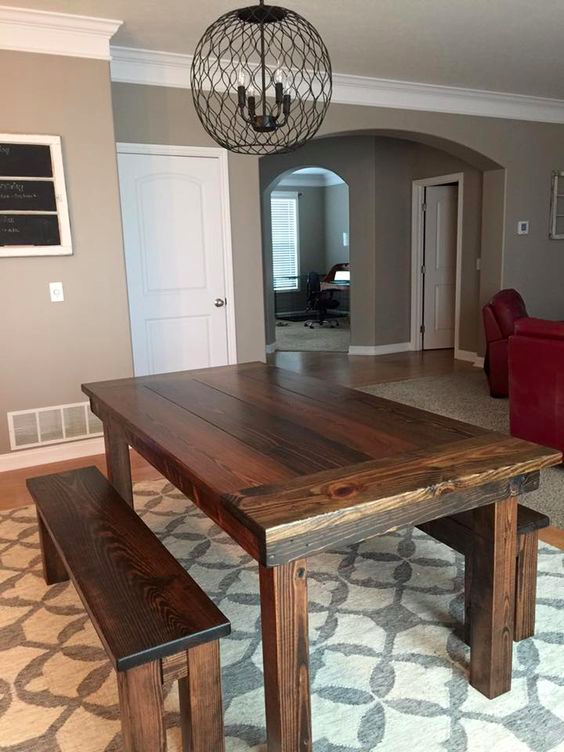 Measure The Width And Length Of Table Then Add 24 To 30 Each Four Sides Facilitate Additional Room For Chairs
