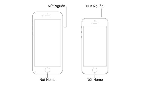 Cách khởi động lại iPhone khi không sử dụng được 3