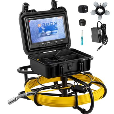 Mophorn 150ft Pipe Pipeline Inspection Camera