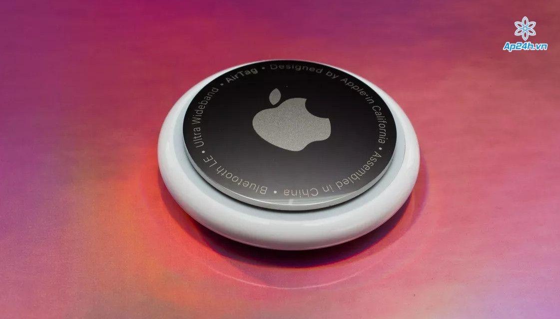 AirTag của Apple giúp người dùng dễ dàng tìm các thiết bị,đồ dùng thông qua ứng dụng