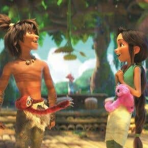 """A scene from """"The Croods: A New Age"""", 2020"""