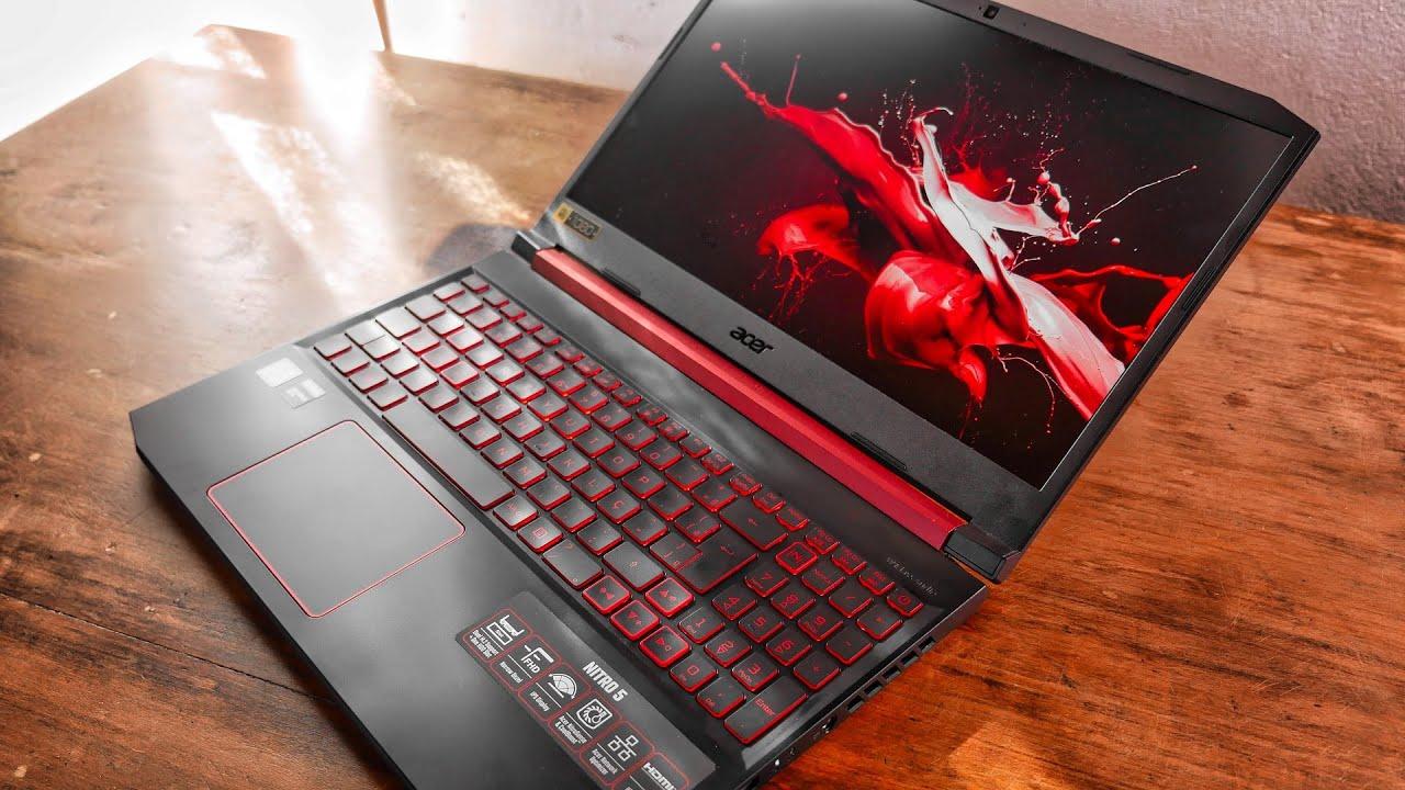 Imagem do Notebook para programar do modelo Acer Aspire Nitro 5